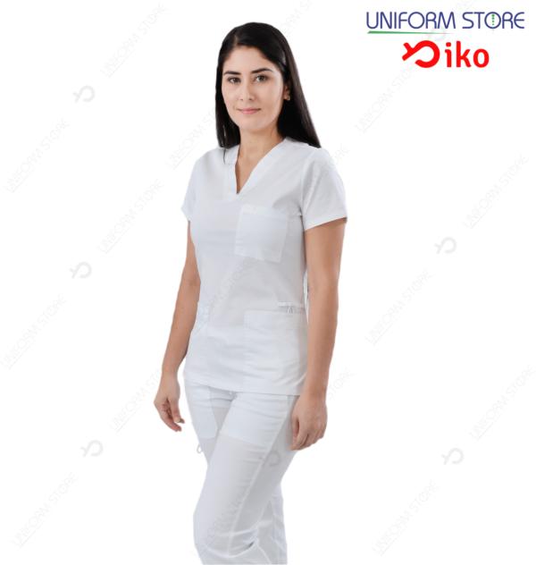 Uniforme Médico IKO 502 - Blanco