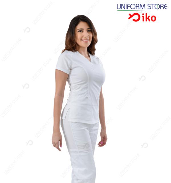 Uniforme Médico IKO 503 - Blanco