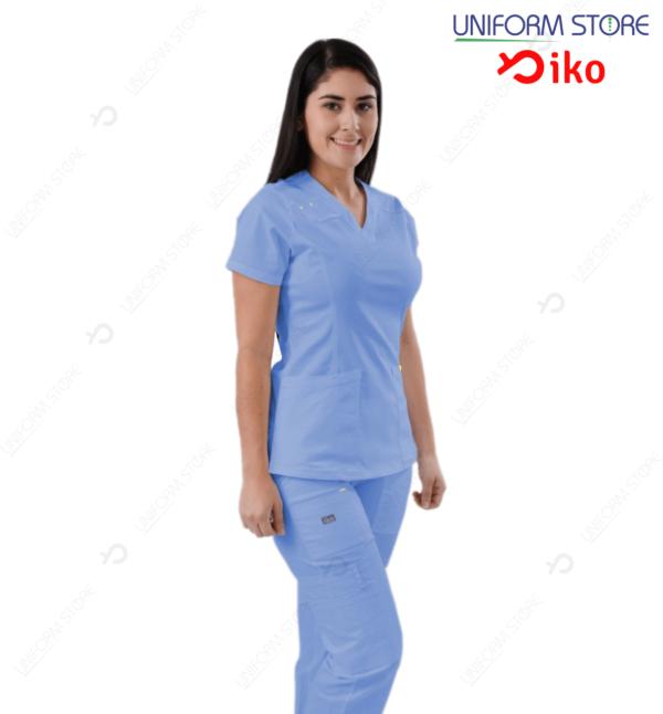 Uniforme Médico IKO 504 - Azul Claro