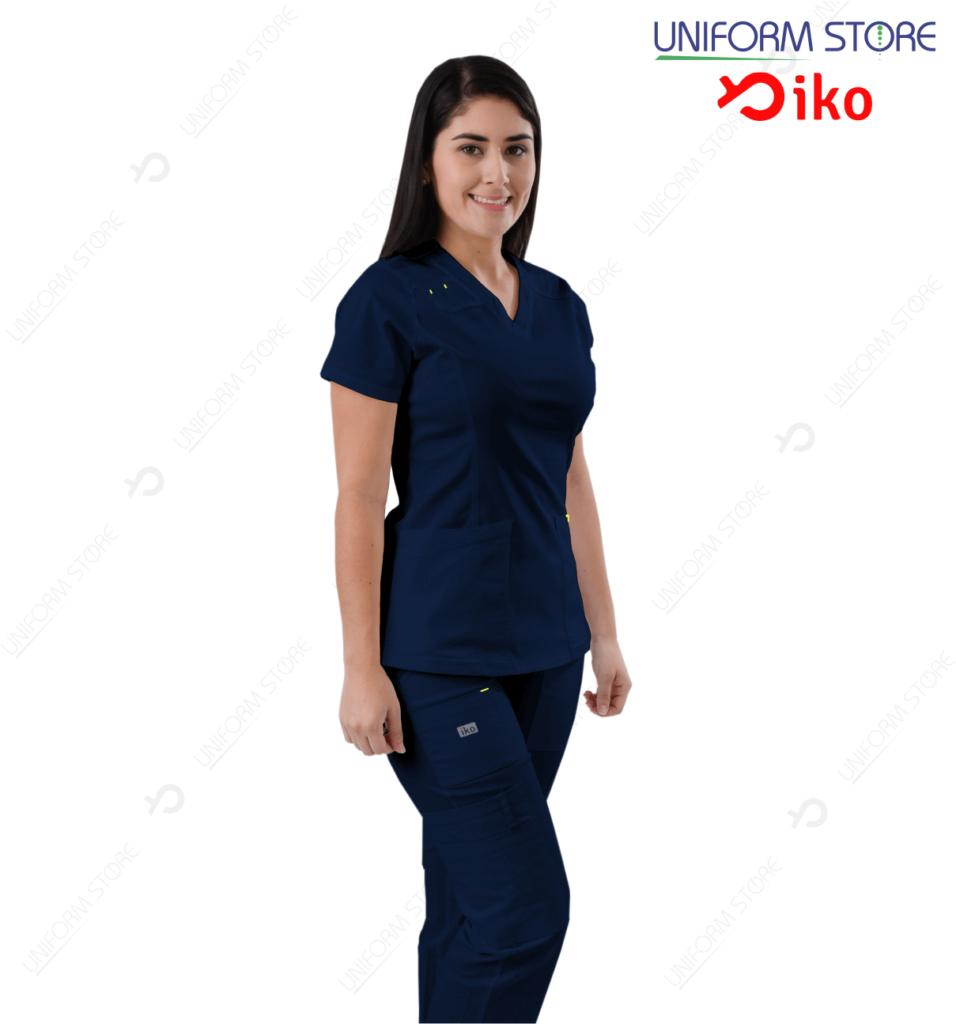 Uniforme Médico IKO 504 - Azul Oscuro