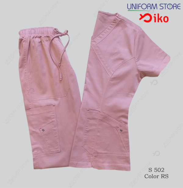 uniforme medico iko 502 rosado