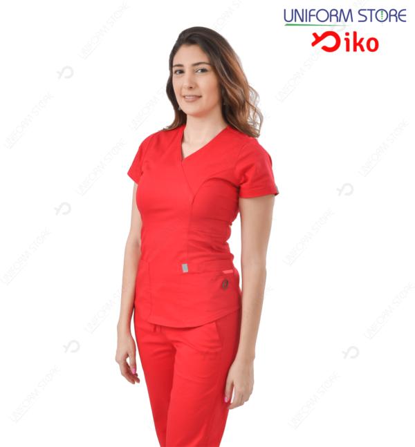 Uniforme Médico IKO 501 - Rojo