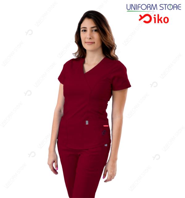 Uniforme Médico IKO 501 - Vinotinto