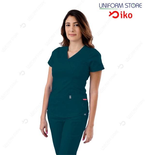 Uniforme Médico IKO 501 - Azul petroleo